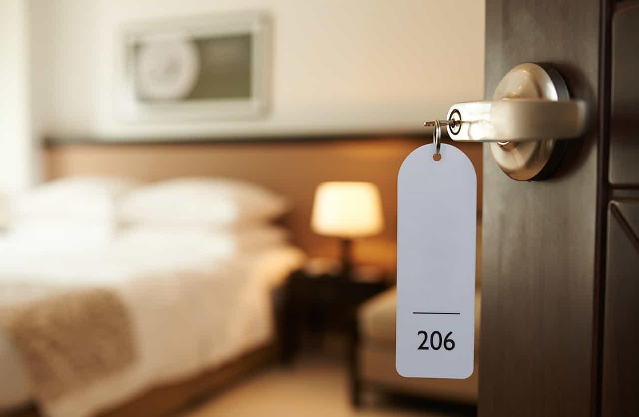 不倫をするためにおさえたホテルの一室