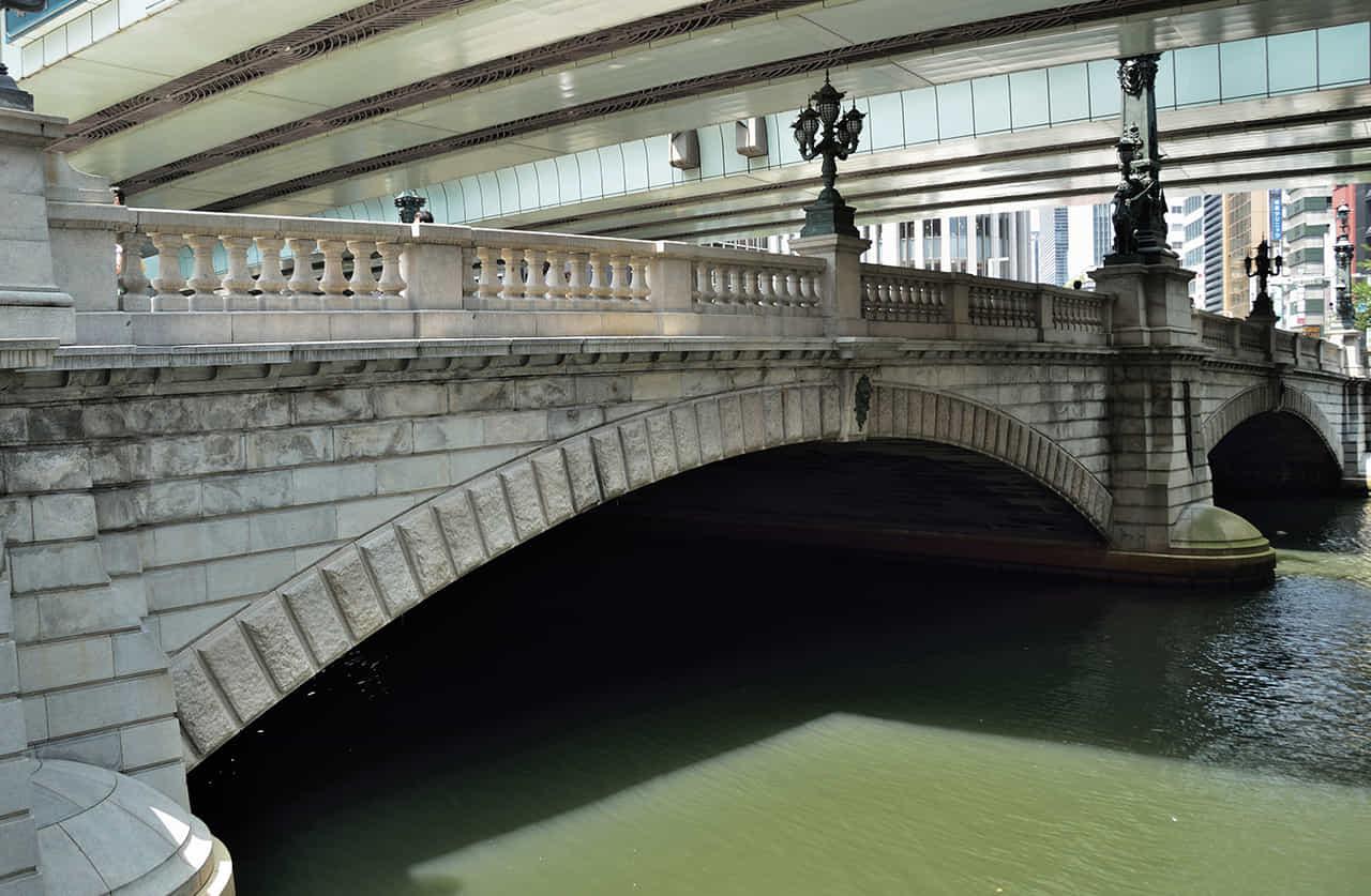 明治時代に造られた日本橋