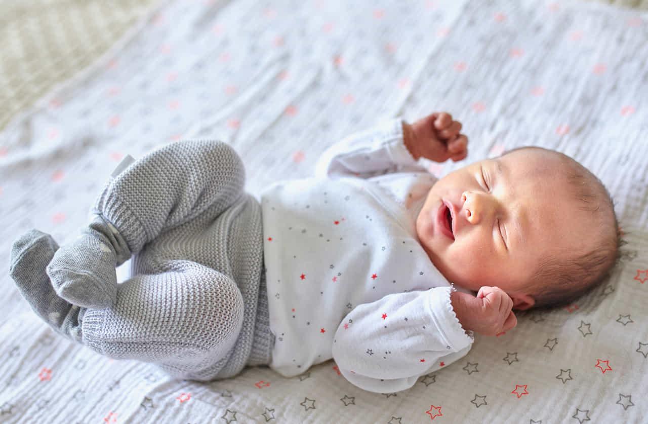 フランスの可愛い赤ちゃん