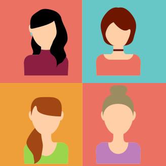 血液型ABO別女性の特徴